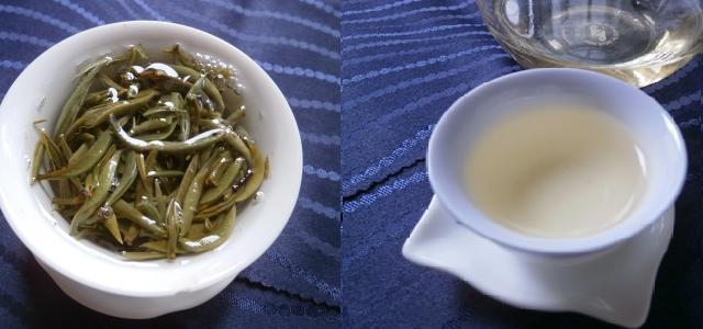 単芽月光白蓋碗茶杯